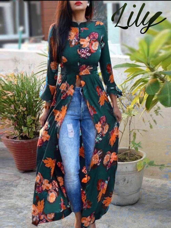 K003 Lily Flex Cotton Long Kurti Collection