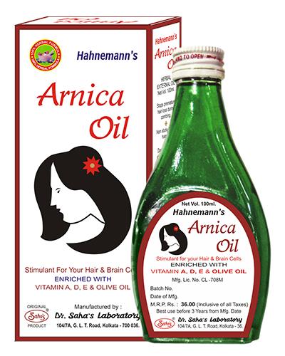 Hahnemann's Arnica Oil