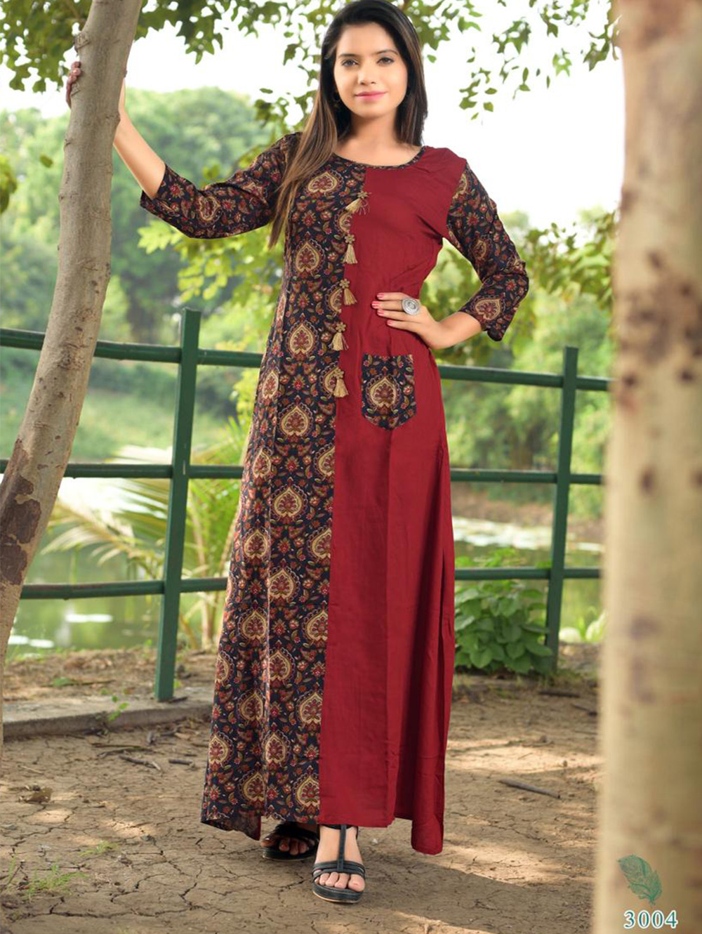 ZIVAVOL33004 Rayon Gown Collection