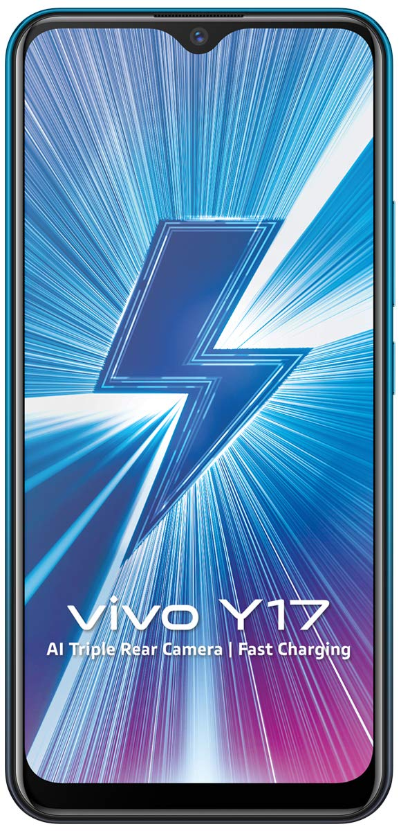 Vivo Y17 Mineral Blue, 4GB RAM, 128GB Storage
