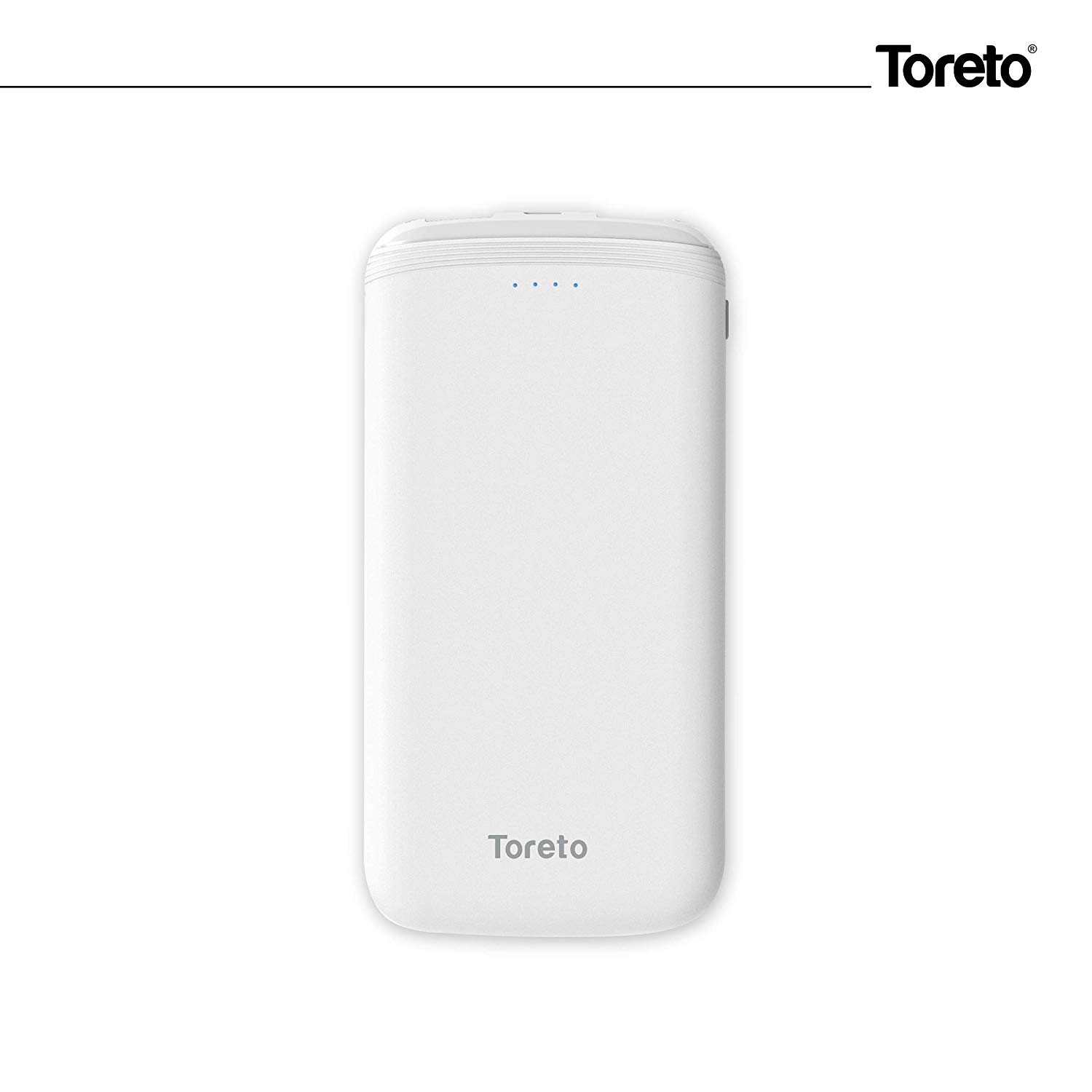 Toreto Ultra Slim 10000 MAH Power Bank with LED Light display-TOR-31 Zest