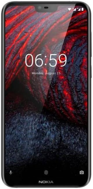 Nokia 6.1 Plus 6 GB 64 GB Black