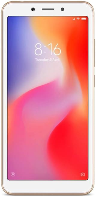 Redmi 6 3 GB 32 GB Gold