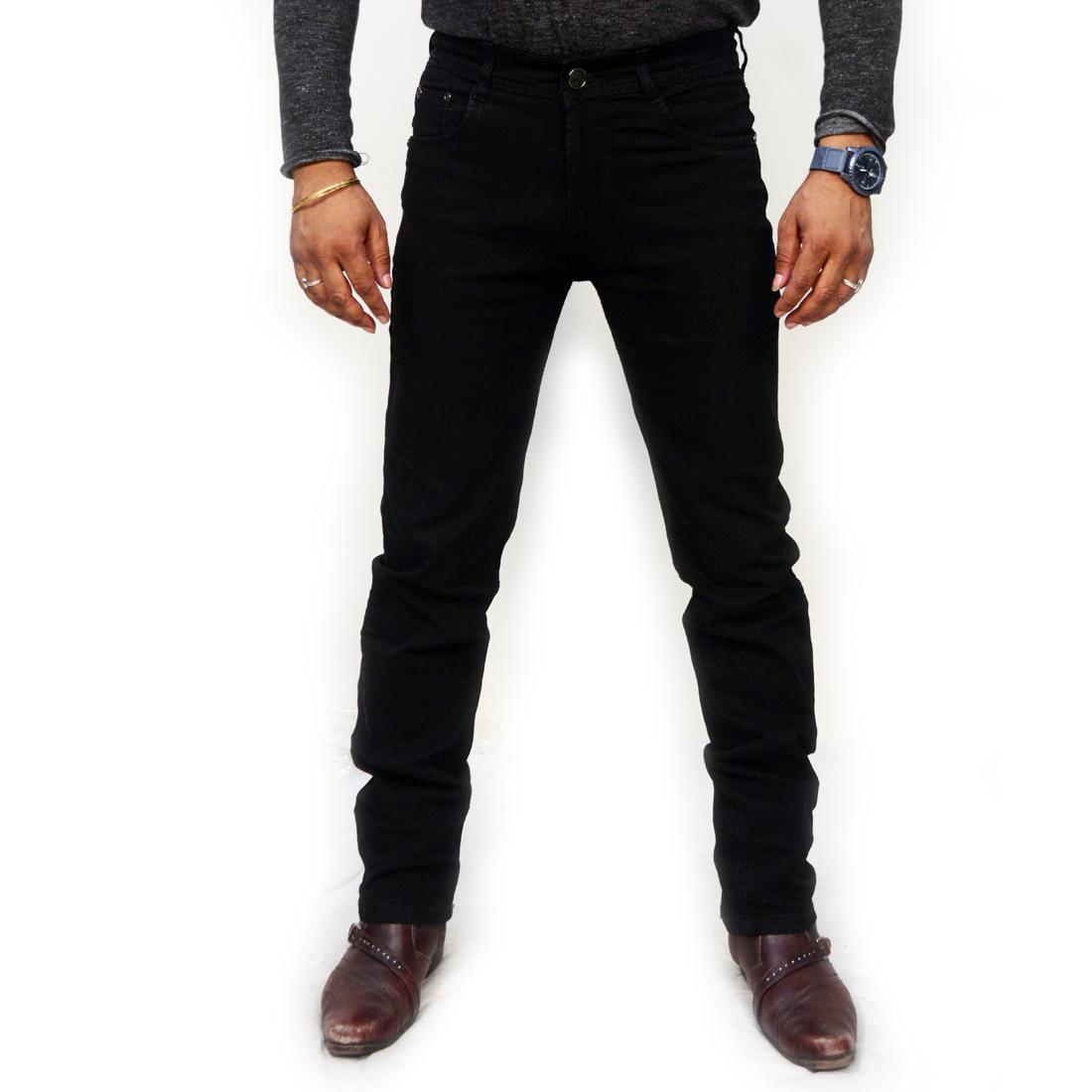 T&Y Men's Denim pants Blue