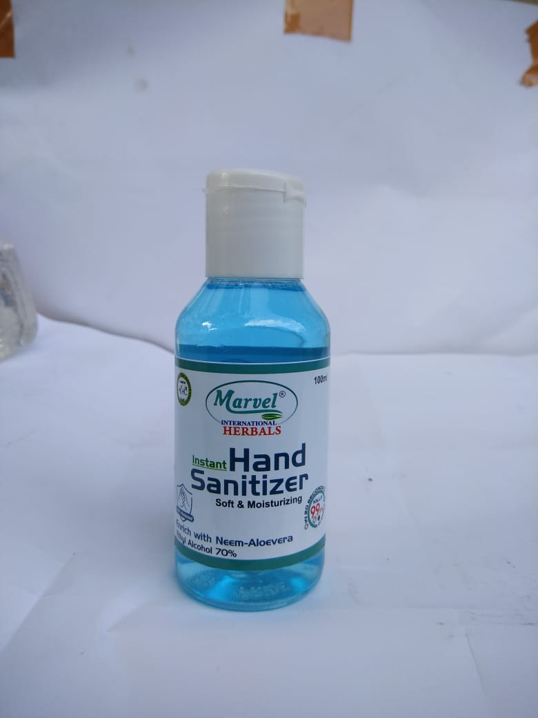 Marvel International Herbals instant Hand Sanitizer