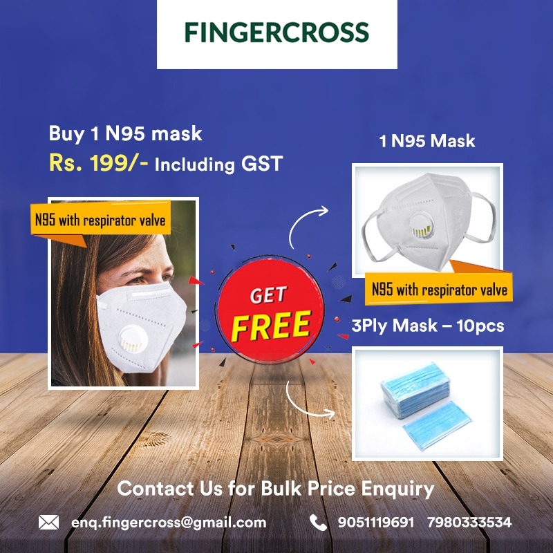 Buy one N95 mask And Get Free