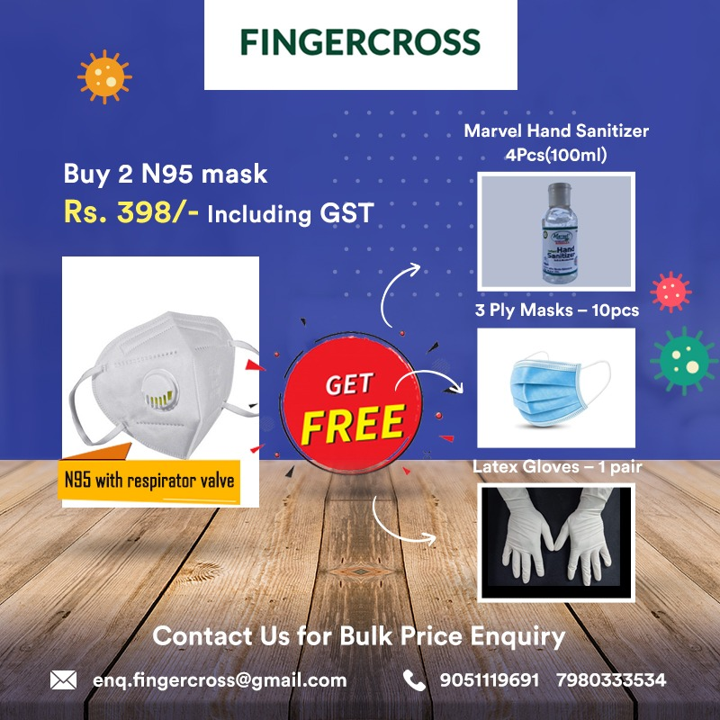 BUY 2 N95 Masks And Get Free