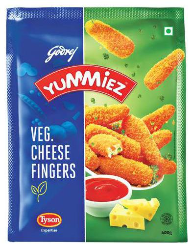 Veg Cheese Fingers