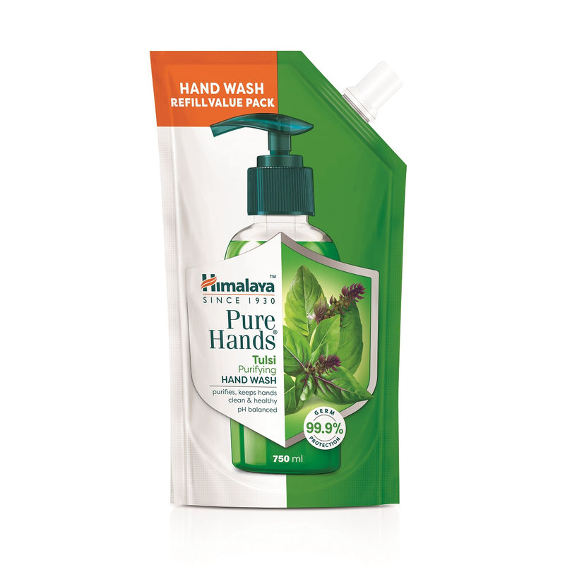 HIMALAYA TULSI HAND WASH 185ML (P)