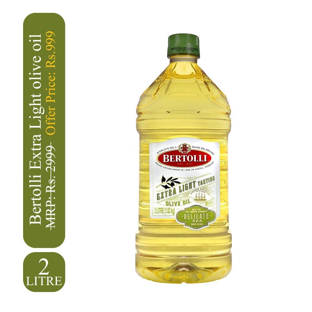 Bertolli Extra Light olive oil 2 Ltr