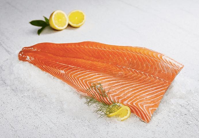 Smoked Salmon (Per Fillet Size: 1 Kg -1.5 Kg)