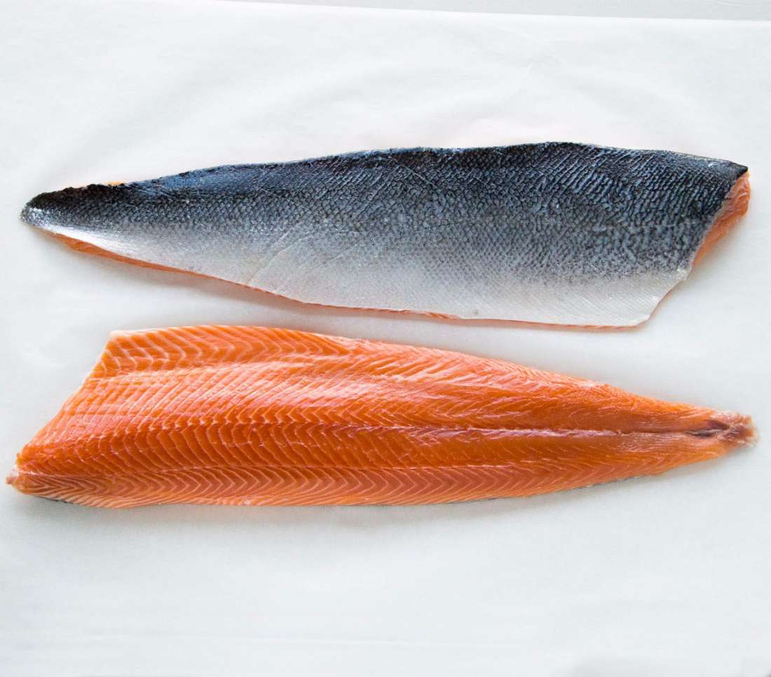 Salmon Fresh Fillets (Per Fillet Size: 1 Kg -1.5 Kg)