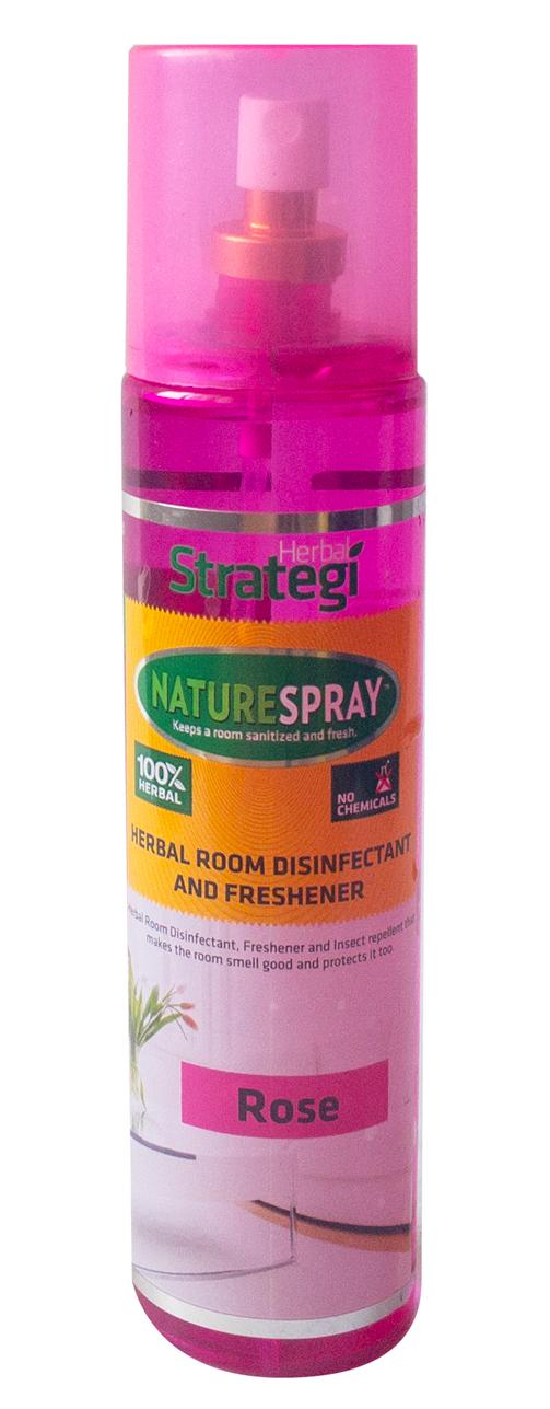Herbal Room Disinfectant & Freshner NATURESPRAY-Rose