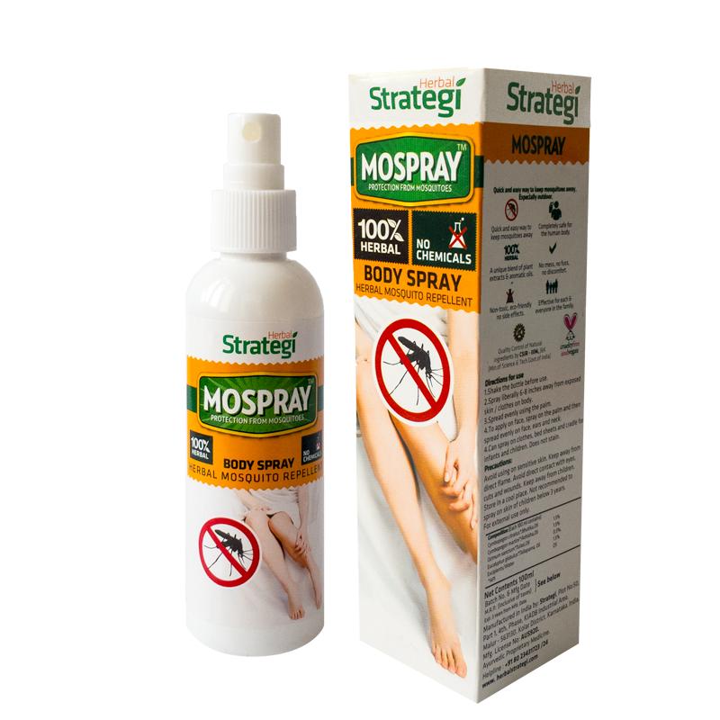 Herbal Mosquito Repellent Body Spray