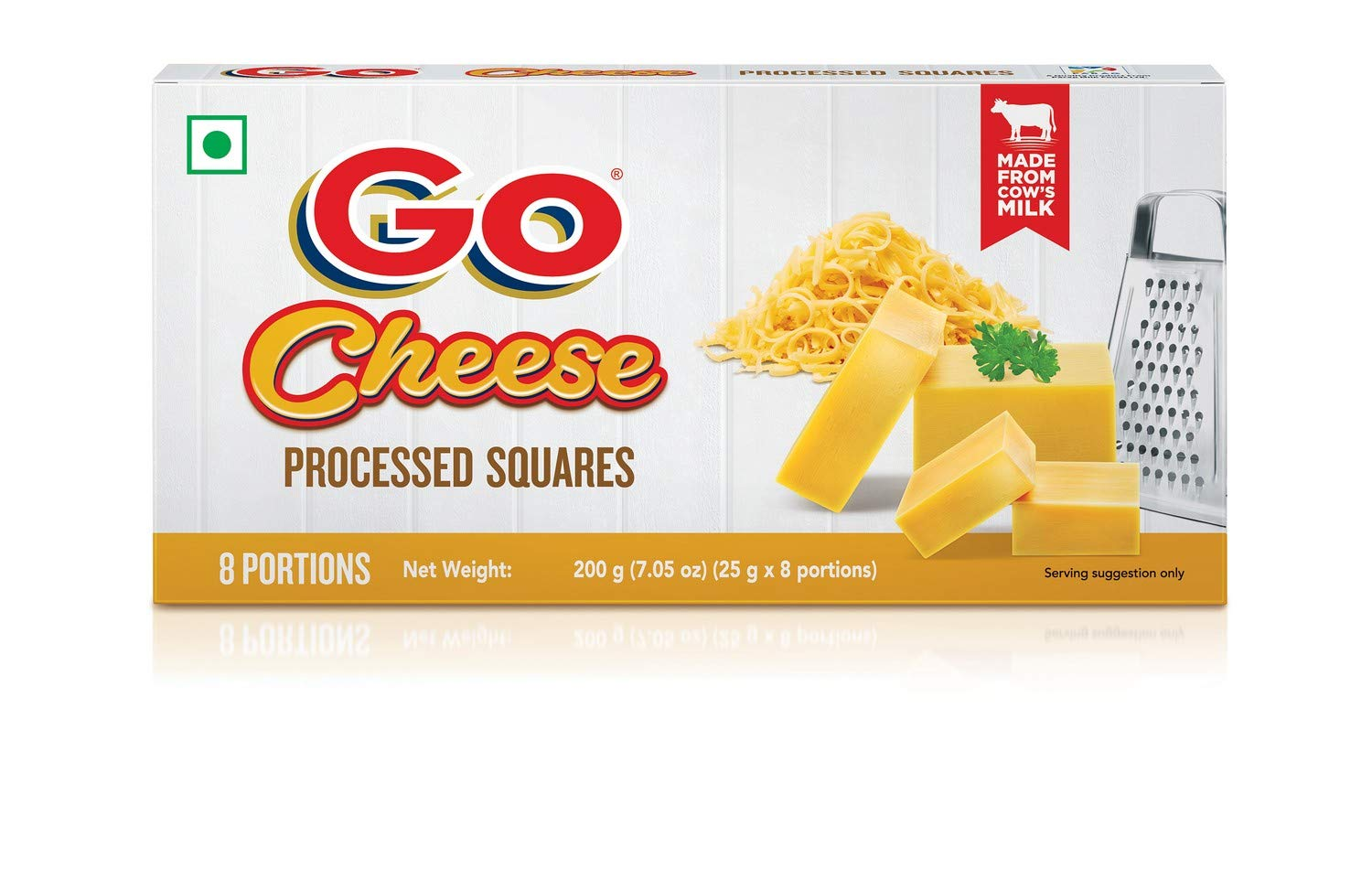GO Cheese Processed Cube