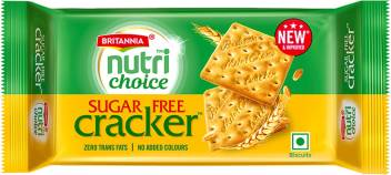 Britannia Nutri Choice Cracker Sugar free Biscuits