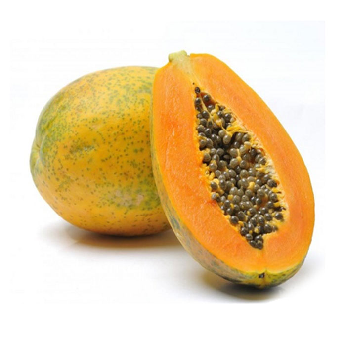Papaya-Ripe (Gross weight 1kg-1.2kg)