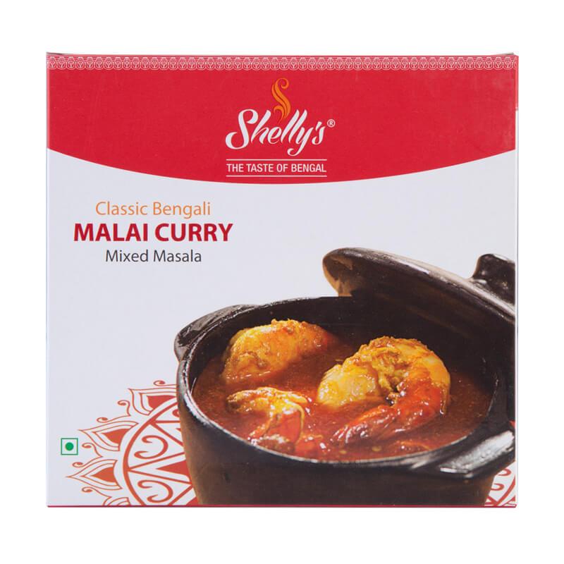 Shelly's Classic Bengali malai curry Mixed Masala  (10 X 10)
