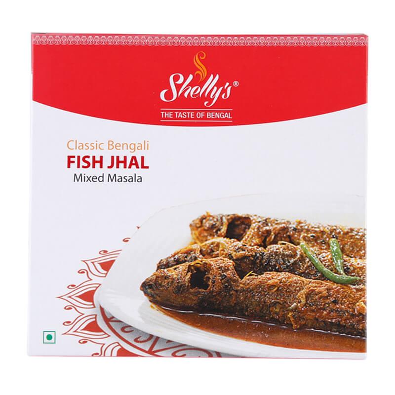 Shelly's Classic Bengali Fish Jhal Mixed Masala (10 X 10)