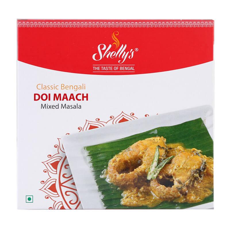 Shellys Classic Bengali Doi Maach Mixed Masala (10 X 10)