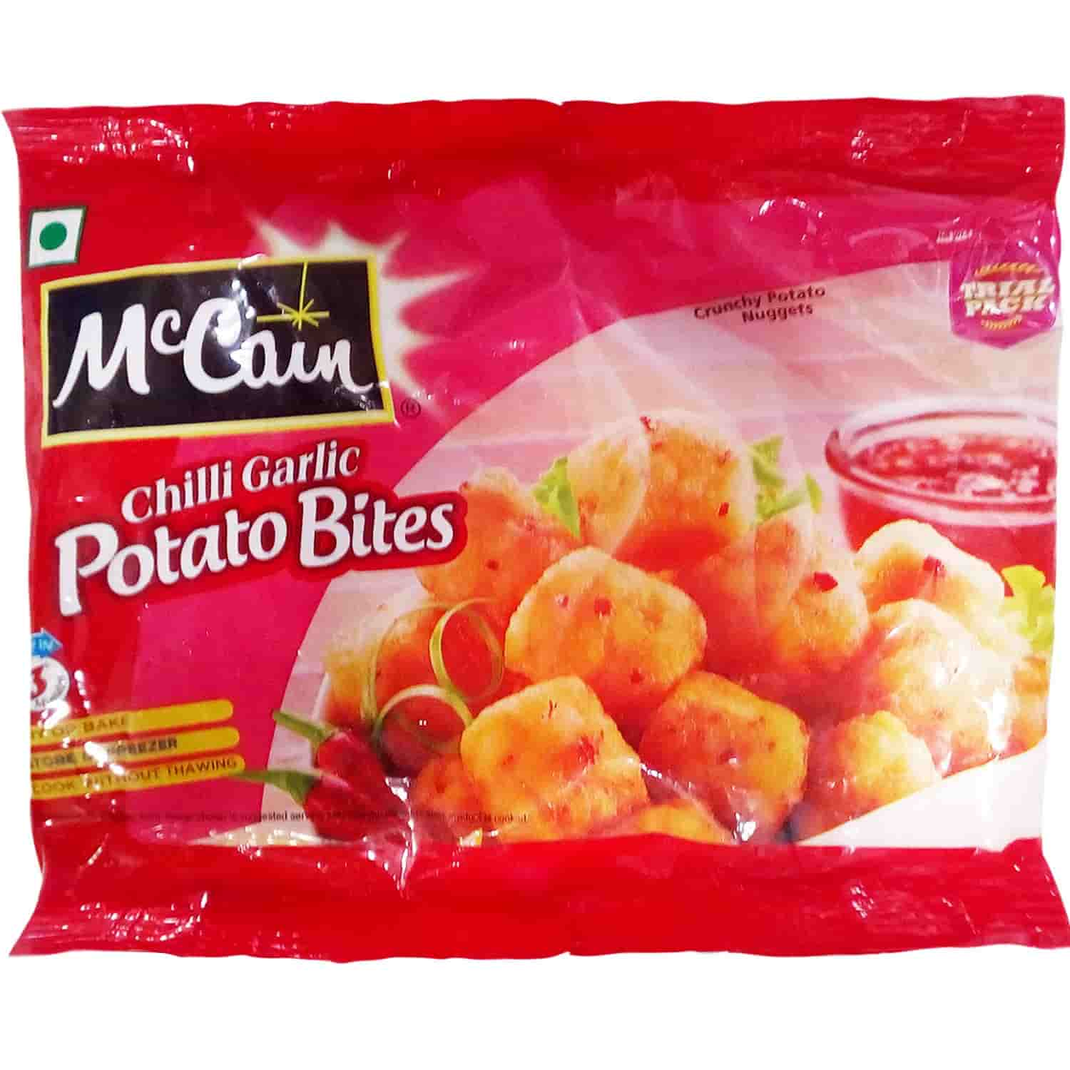 MCCAIN CHILLY GARLIC POTATO BITES PP