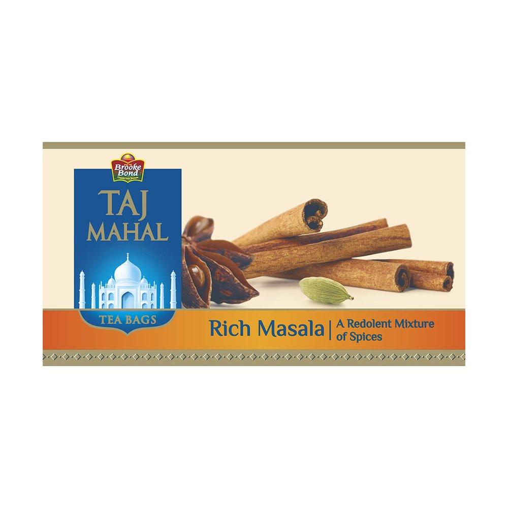 Taj Mahal Rich Masala Tea Bags.