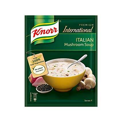 International Italian Mushroom Soup