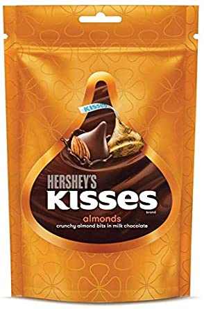 Hershey's Kisses Almond Pouch