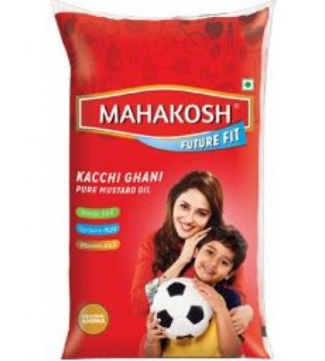 Mahakosh Kachchi Ghani Mustard Oil Pouch