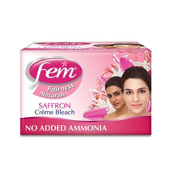 Fem Fairness Naturals Saffron Bleach