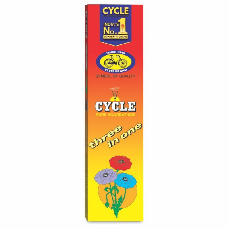 Cycle Three In One Agarbatti