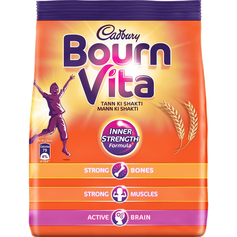 Cadbury Bournvita Health Drink Nutrition Drink.