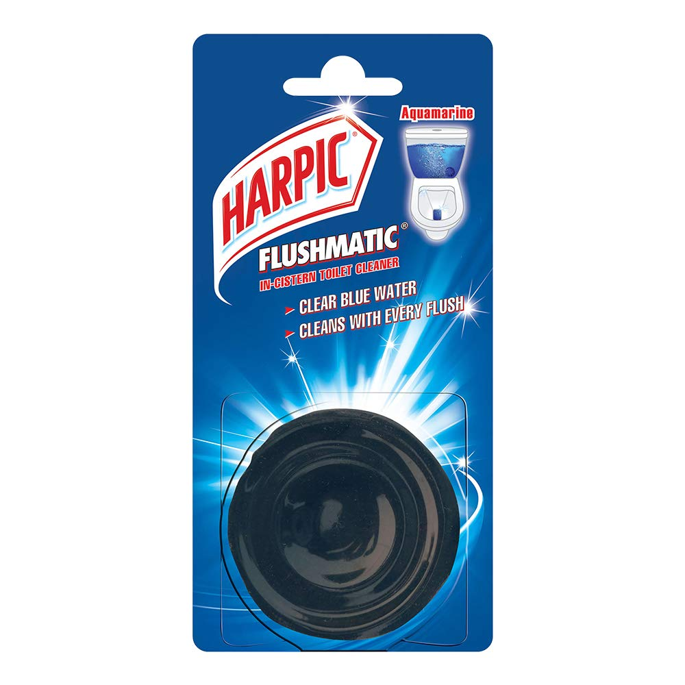 Harpic Flushmatic In-Cistern Toilet Cleaner (Aquamarine)