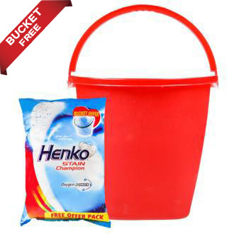 Henko Stainchanpion Oxygen Power 3Kg + 1Bucket