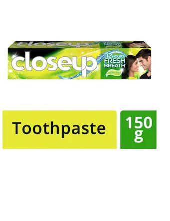 Closeup Deep Action Lemon Mint Gel Toothpaste.