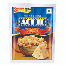 Act II Instant Popcorn Cheese Flavour.