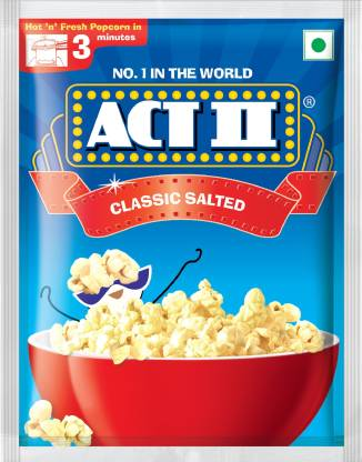 ACT II Instant Popcorn - Classic Salted.