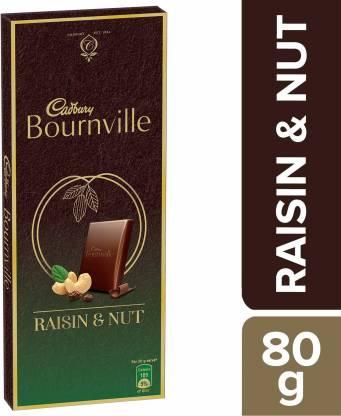 Cadbury Bournville Raisin & Nuts Dark Chocolate Bar