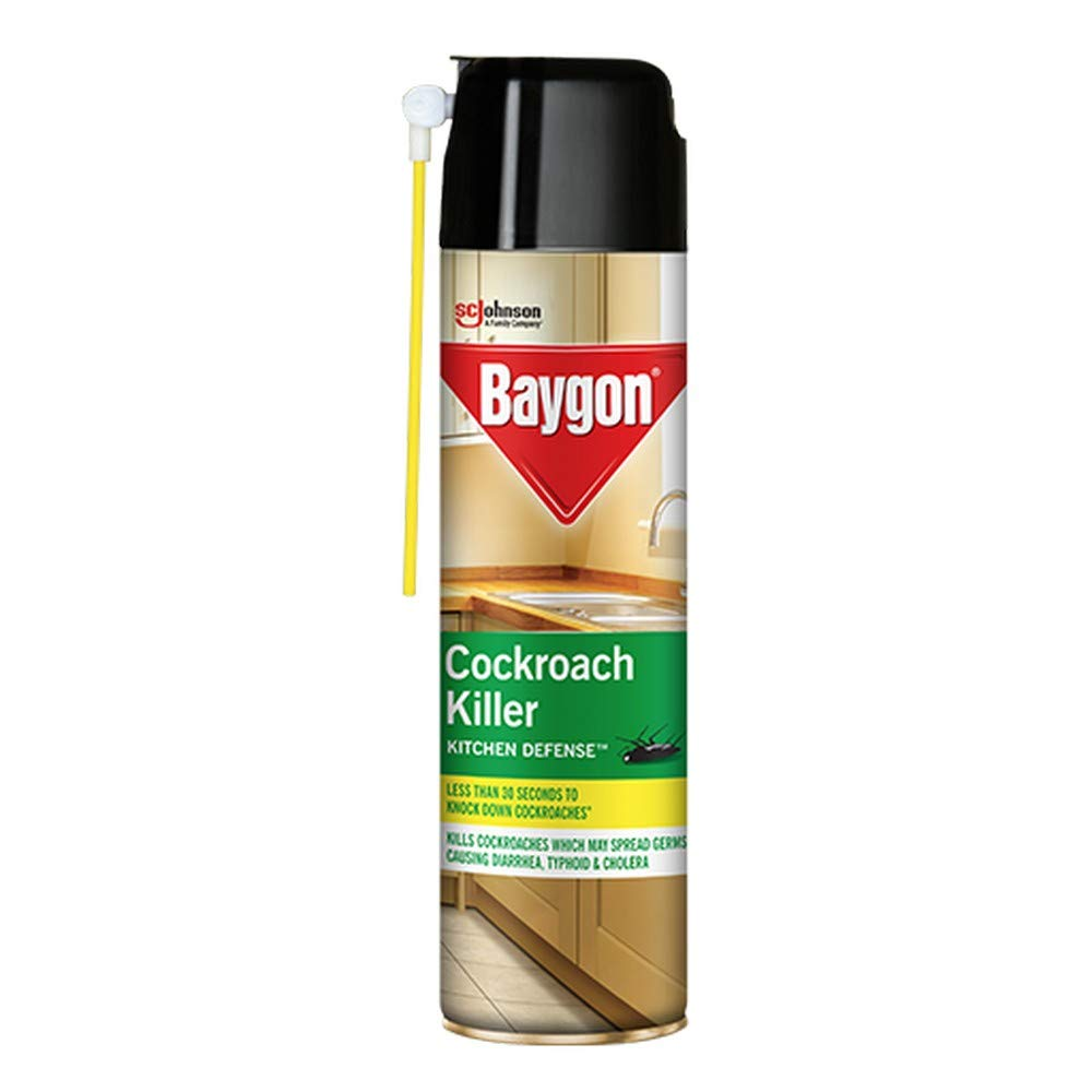 Baygon Cockroach Killer Spray.