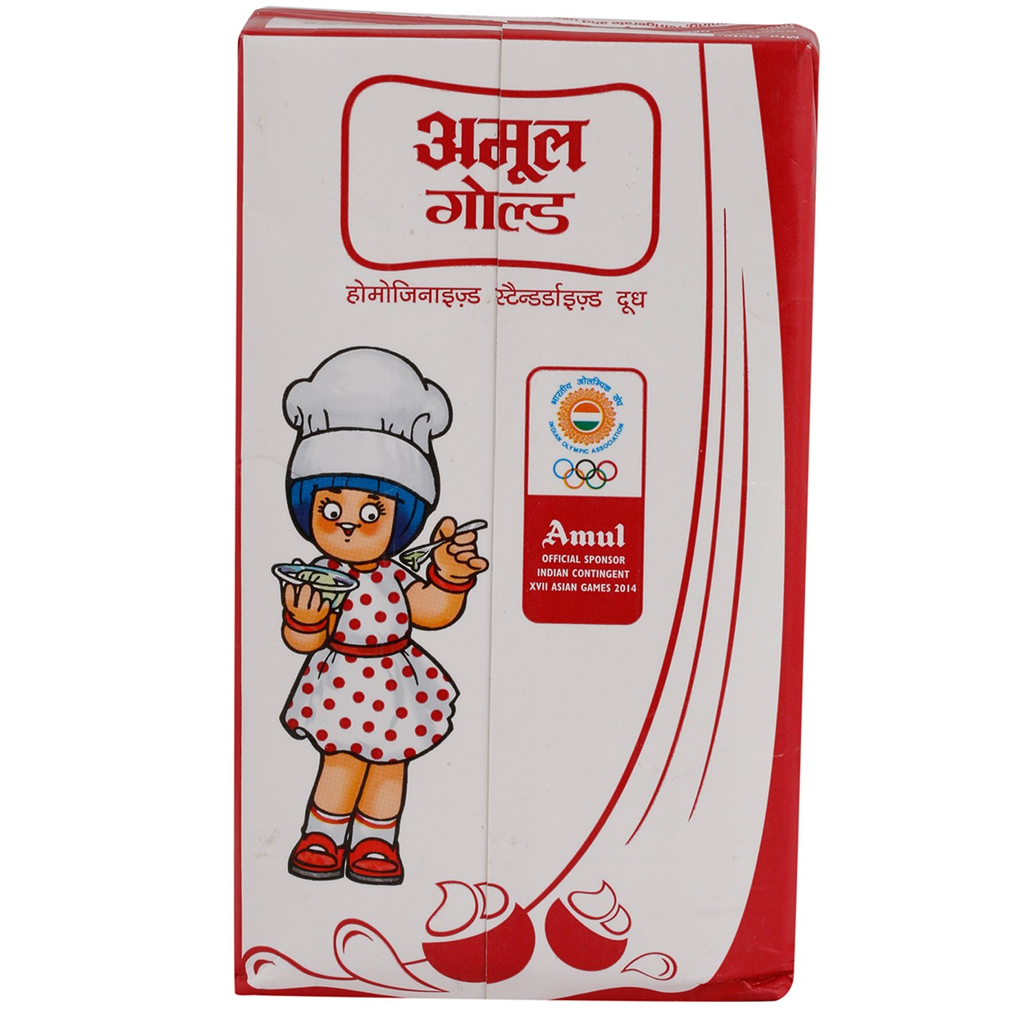 Amul Gold Milk - Homogenised Standardised,