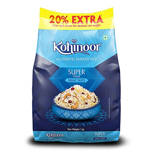 Kohinoor Super Value Basmati Rice (Long Grain)