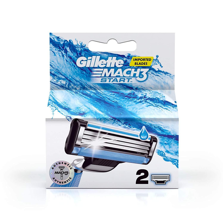 Gillette Mach3 Start With Aqua Grip Blade 2 blade