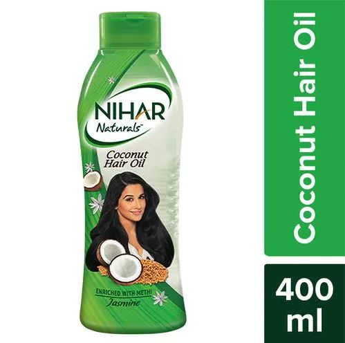 Nihar Naturals Coconut Hair Oil With Methi.