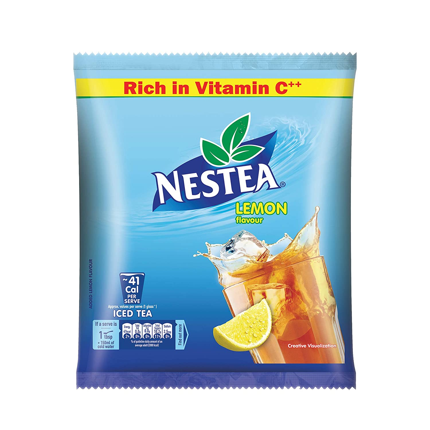 Nestle NESTEA Instant Iced Tea Lemon.