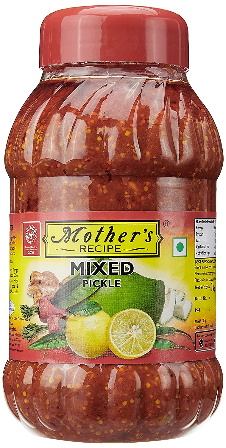 Mother's Recipe Mixed Pickle.
