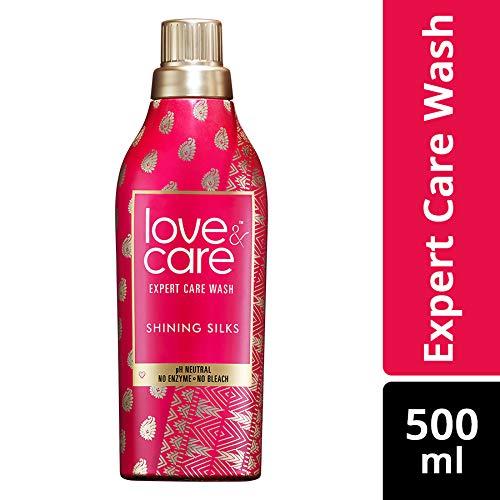 Love & Care Shining Silks Expert Care Wash Liquid Detergent.