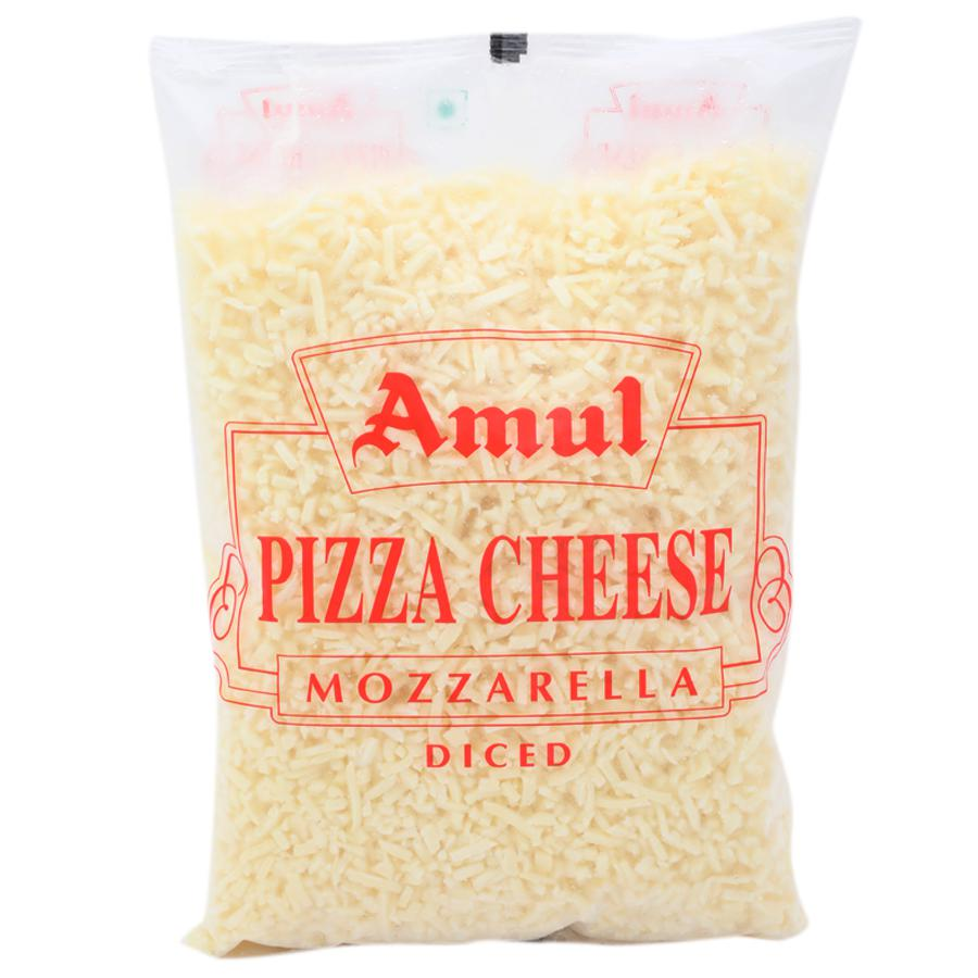Amul Pizza Cheese - Mozzarella (Diced).