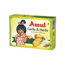 Amul Buttery Spread - Garlic and Herbs.