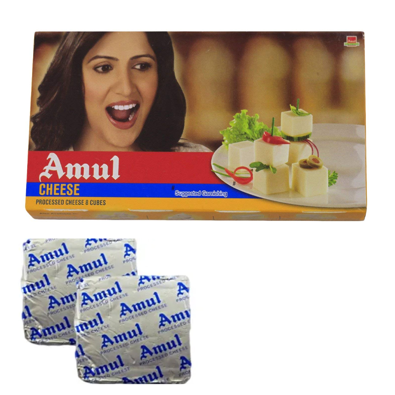 Amul Processed Cheese Cube