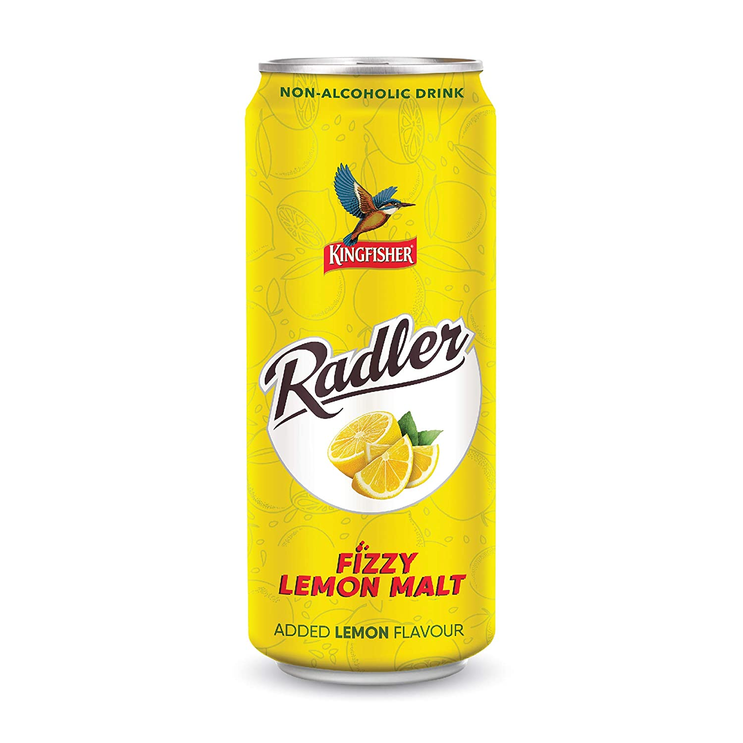 Kingfisher Radler Lemon Malt Can